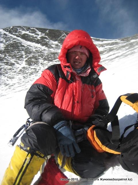Влад Чехлов после горы в 4 лагере