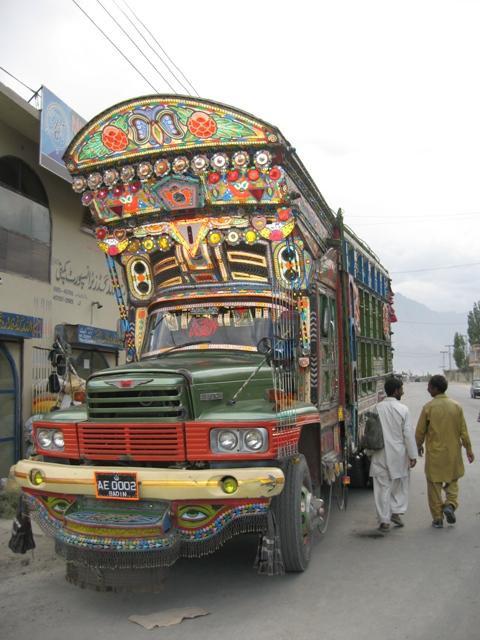 Корабль дорог Пакистана