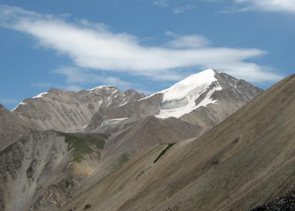 пик Кругозор (4500м), он же Астана-пик