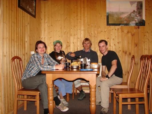 Ужин в отеле Вершина на поляне Азау