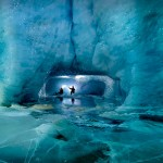 Ледяные пещеры ледника Горнер