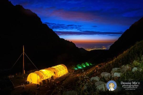 Семинар: Зимняя ночевка в горах на Туюк-су. Shymbulak AlpineClub.kz